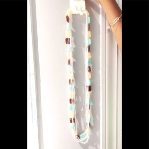 Beautiful summer long necklace NWT